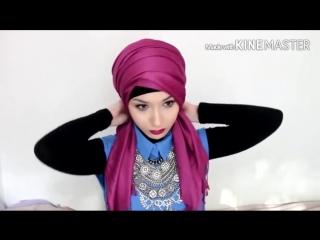 как завязать тюрбан turban tutorial