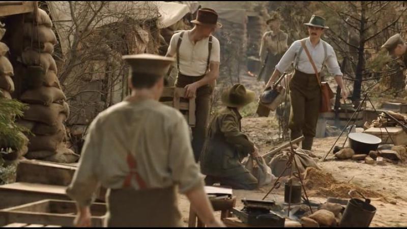 Галлиполийская история / Deadline Gallipoli / Серия 1 (2) [2015, военный, драма,
