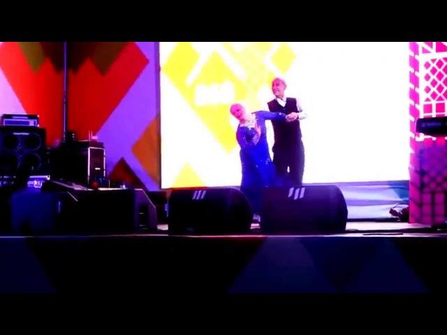 Вальсом Хачатуряна началось наше выступление на Дне города 5 сентября на Речном вокзале