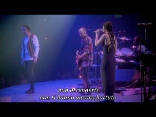 Peter Gabriel - Don't Give Up (Secret World Tour) - testo ita
