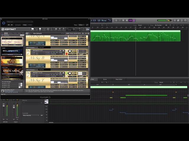 Real saxophone kontakt library(not fake) Самый реалистичный виртуальный Саксофон