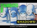 How to Draw Shadows 1 Drawing, 4 Different Ways