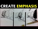 Urban Sketching Series Pt 4 | Tips on how to create emphasis