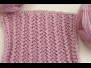 Вязание спицами для начинающих. Французская резинка Knitting for beginners. Rick Rack Pattern