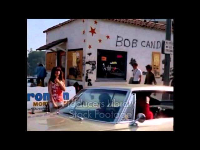 Hollywood - Sunset Blvd 1967 HQ (From Producers Library stock footage)