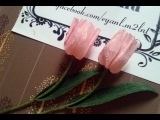 Tulip paper flower - Làm hoa tulip giấy