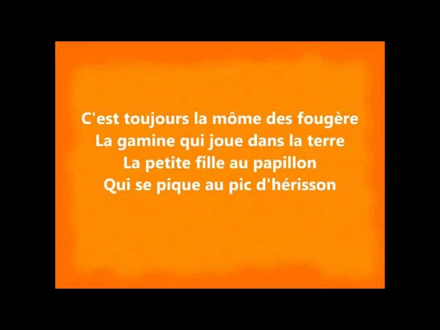Zaz - Toujours (Lyrics / Paroles)