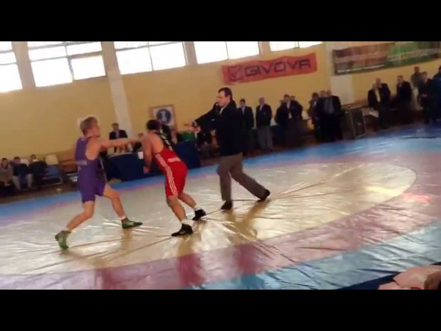 Драка на Чемпионате Украины вольная борьба