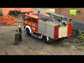 Харьков в дыму из-за горящих старых шпал