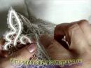 Сшивка изделия иголкой вытачка клина