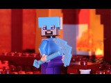 LEGO® Minecraft - The Nether Fortress Stop Motion Music Video