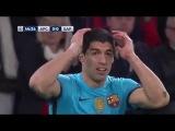 Арсенал - Барселона  ( 0 : 2 ) голы и  невероятные моменты матча 23.02.2016