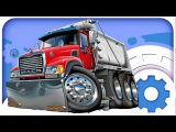 Car Cartoons. Truck. Heavy vehicles at the Construction Site. Cars build a house. Emergency Cars TV