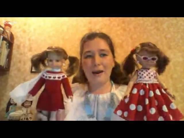 Мастер-класс Вяжем крючком платье с сердечками для кукол Paola Reina