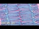 Crochet Joining Hairpin Lace Урок 18 часть 3 из 4 Ленты на вилке и их соединение