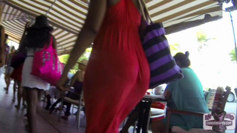 Жопа в платье видео считаю