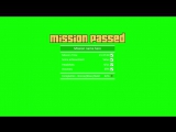 GTA 5 Mission Passed - GREEN SCREEN