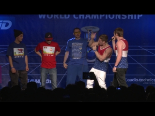 TwenTeam8 vs K-Pom - 1⁄2 Final - 4th Beatbox Battle World Championship