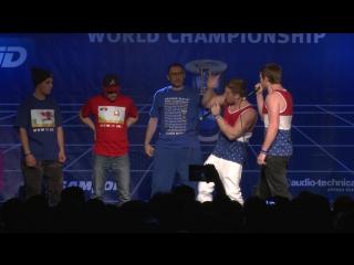 TwenTeam8 vs K-Pom - 1⁄2 Final - 4th Beatbox Battle World Championship