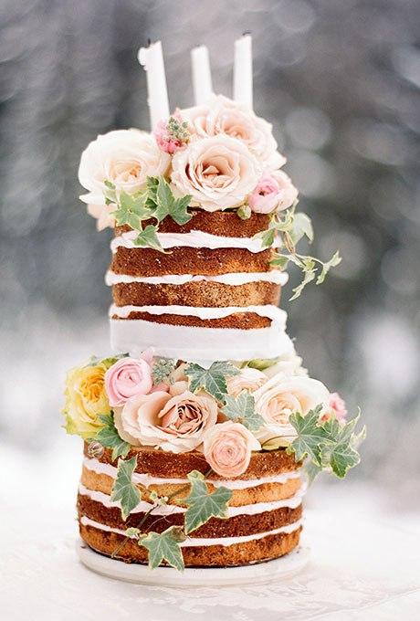 BuuNOBfZ1yo - 20 Идей для весеннего свадебного торта