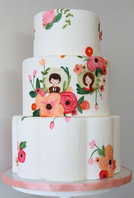 nQkIWGitFqo - 20 Идей для весеннего свадебного торта