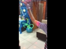 Кира танцует с ксюшей, кипе 2 года