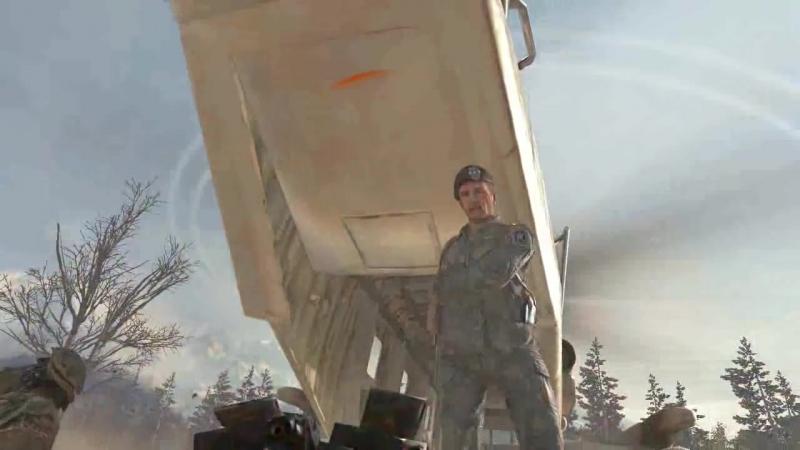 Call of Duty Modern Warfare 2 Шепард предатель