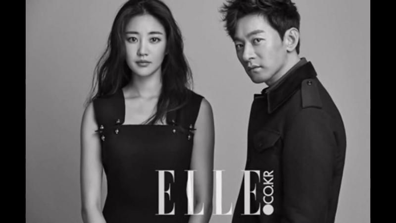 Kim Sa Rang and Joo Jin Mo for ELLE Magazine