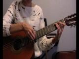 Ленинград - Амстердам группа Сплин (разбор, перебор, простые аккорды без баре)