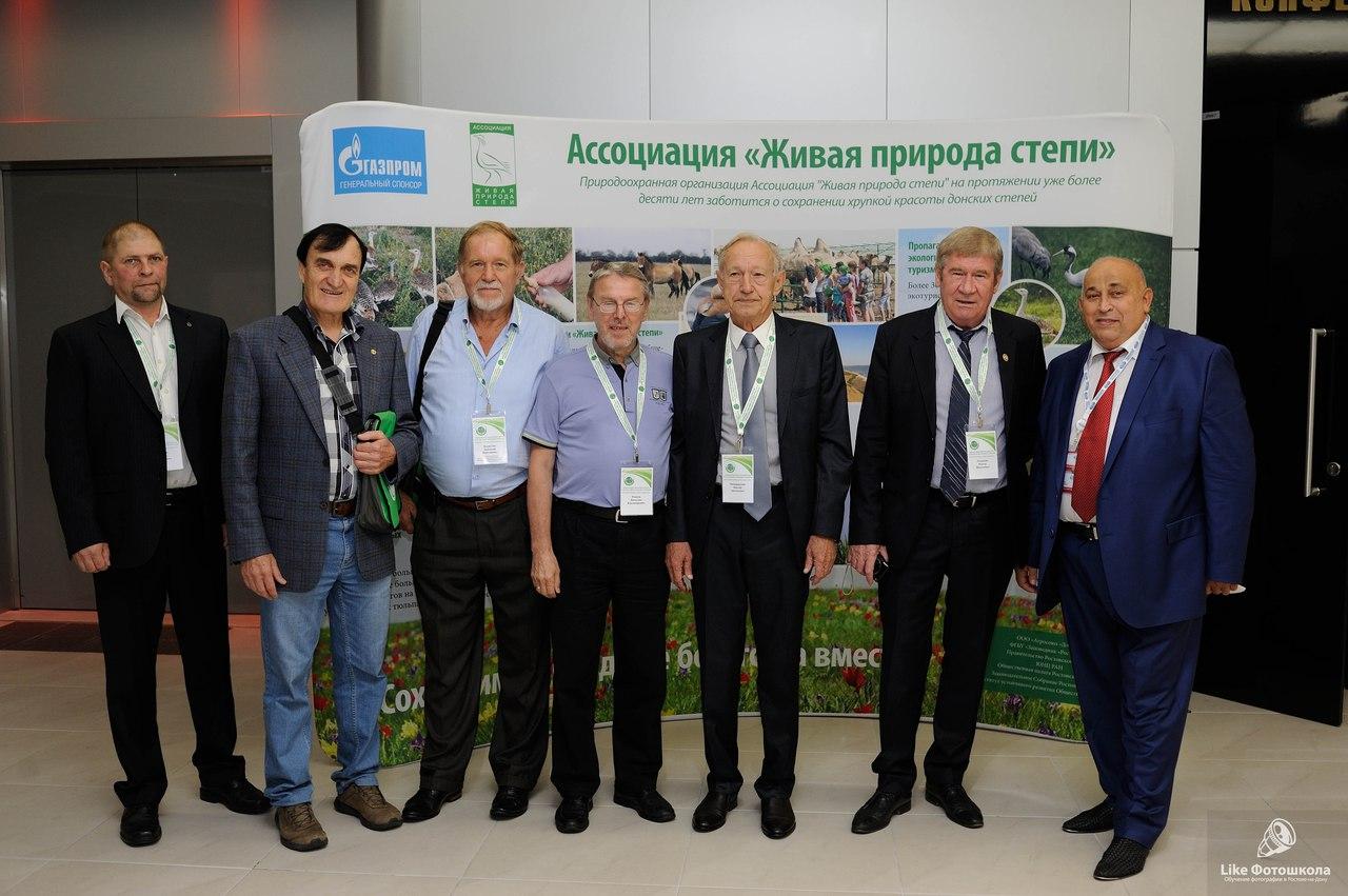 Участники Форума (степеведы) А.А.Чибилёв и В.А.Миноранский