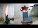 販售版高效率火箭爐30秒快速生火演示 New Rocket Stove