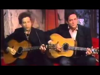 Girl from the north country - Bob Dylan & Johnny Cash
