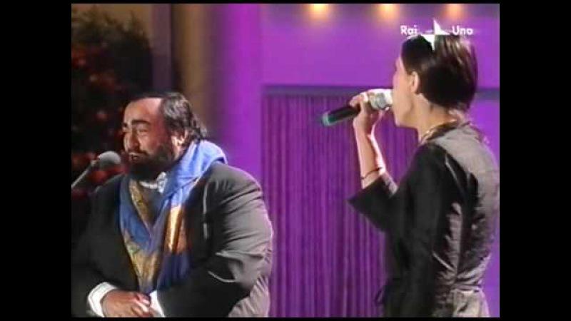 Luciano Pavarotti Elisa - Voglio Vivere Così