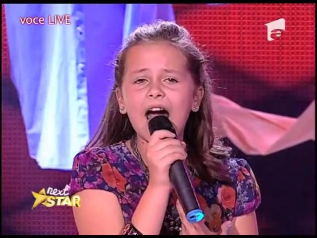 Lara Fabian - Adagio. Vezi cum a cântat Andrada Vlăsie, la Next Star!
