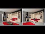 NEW! 2016! Шкаф диван кровать трансформер 3 в 1 Москве. Модели мебели в малогабаритных квартирах.