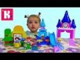 Принцессы Диснея Лего Дупло 10596 играем в конструктор Lego Duplo set 10596 Disney Princess