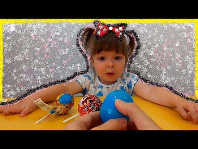 ЧУПА ЧУПС Минни Маус и Зверюшки прилипучки Сюрпризы Chupa Chups Surprise Sticky Zoo