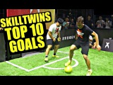 SkillTwins TOP 10 Amazing Football/Freestyle/Futsal Goals ★