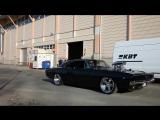 Supercharged Dodge Charger 1968 1500 H P Burnout