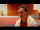 Елена Исинбаева на съемках промо-ролика Матч ТВ