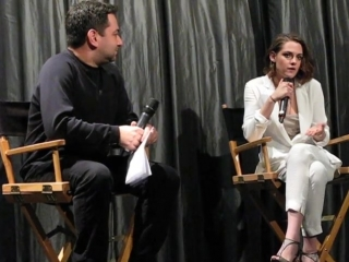 CLOUDS OF SILS MARIA with KRISTEN STEWART QA IFC Center NYC January 3 2016