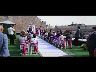 Русско-голландская выездная церемония Johan&Natalia 24.07.15, СПб, Red Stars Hotel, свадебный регистратор - Олеся Солнечная