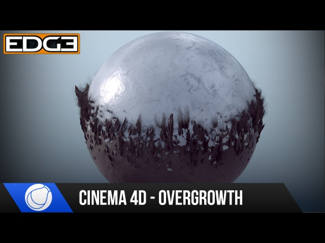 Cinema 4D Mograph Tutorial - Overgrowth Transition Effect Rendering HD