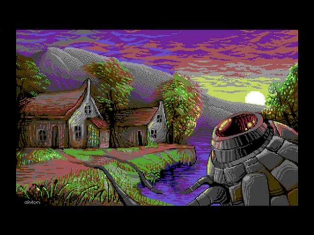 Олдскульная графика часть 2 Apple 2 и Atari