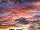 КРАСИВЫЙ ЗАКАТ. Удивительное вечернее небо ДЖОРДЖИИ / American liFE Видео 167