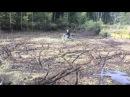 IRBIS VIRAGO 110 в болоте! не хуже TTR 125