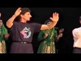 Париж 09 03 2002 Детский танцевальный ансамбль Даймохк покорил французскую публику