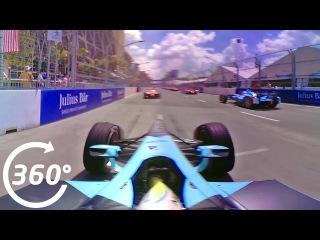 360° Video: Putrajaya Race Start Crash Onboard