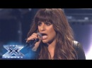 Finale: Lea Michele Performs Cannonball - THE X FACTOR USA 2013
