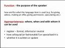 CELTA - Analysing language